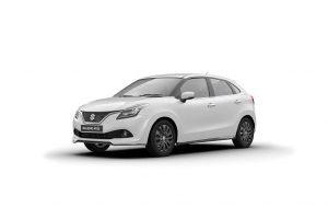 Maruti Baleno RS White