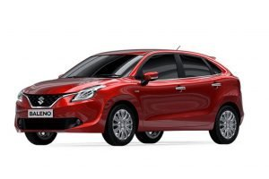 Maruti Baleno Red