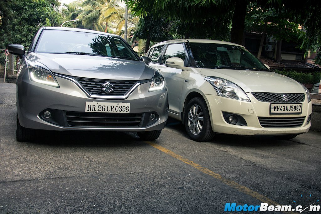 Maruti Baleno Swift Comparison
