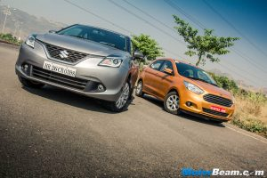 Maruti Baleno vs Ford Figo Shootout