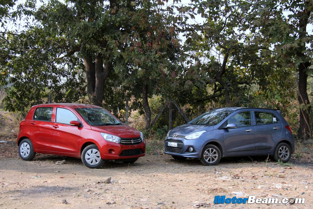Maruti Celerio vs Hyundai Grand i10 Automatic