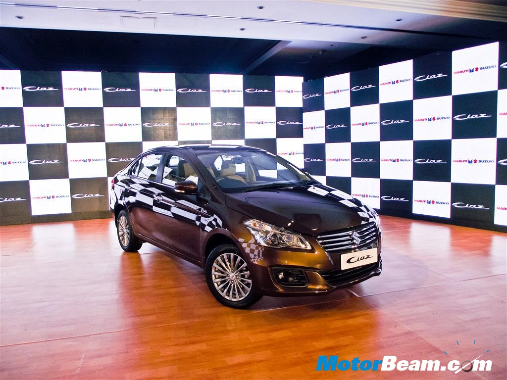 Maruti Ciaz India Launch
