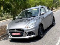 Maruti Dzire CNG Spotted