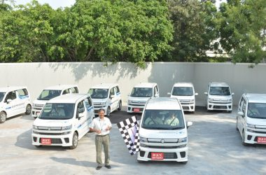 Maruti EV Prototype Flag-off