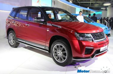 Maruti Grand Vitara Luxion India