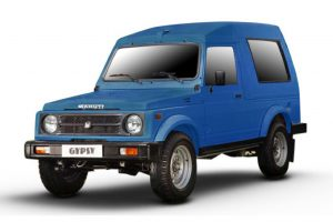 Maruti Gypsy Blue