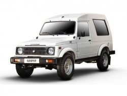 Maruti Gypsy White
