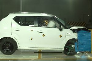 Maruti Ignis Crash Test Showcased, Meets Upcoming Safety Norms