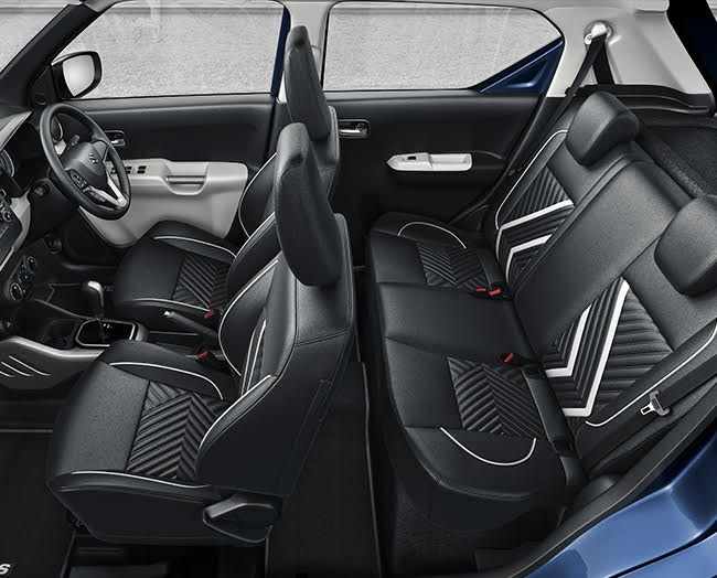 Maruti Ignis Limited Edition Interiors