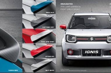 Maruti Ignis Accessories Price List – Loads Of Customisations Available