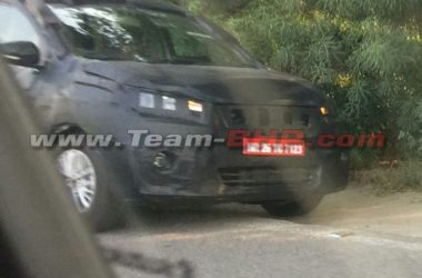 2018 Maruti Ertiga Spotted Testing, Unveil Likely At Auto Expo