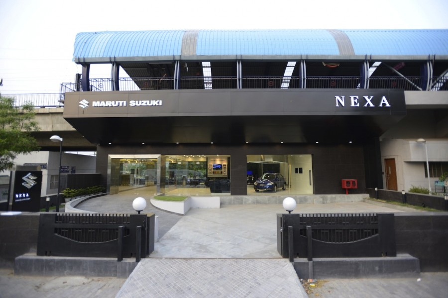 Maruti Nexa Showroom