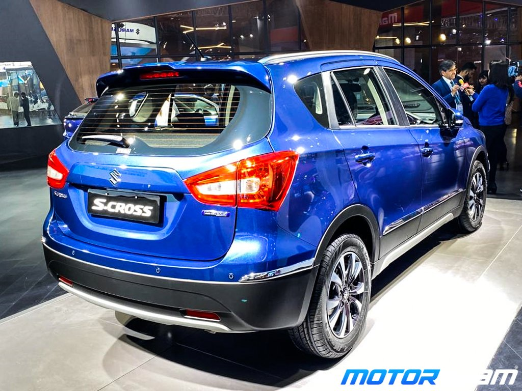 Maruti S-Cross Auto Expo 1