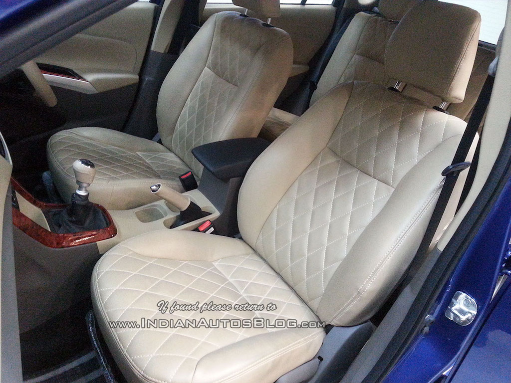 Maruti S-Cross Beige Quilted Seats