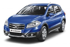 Maruti S-Cross Blue