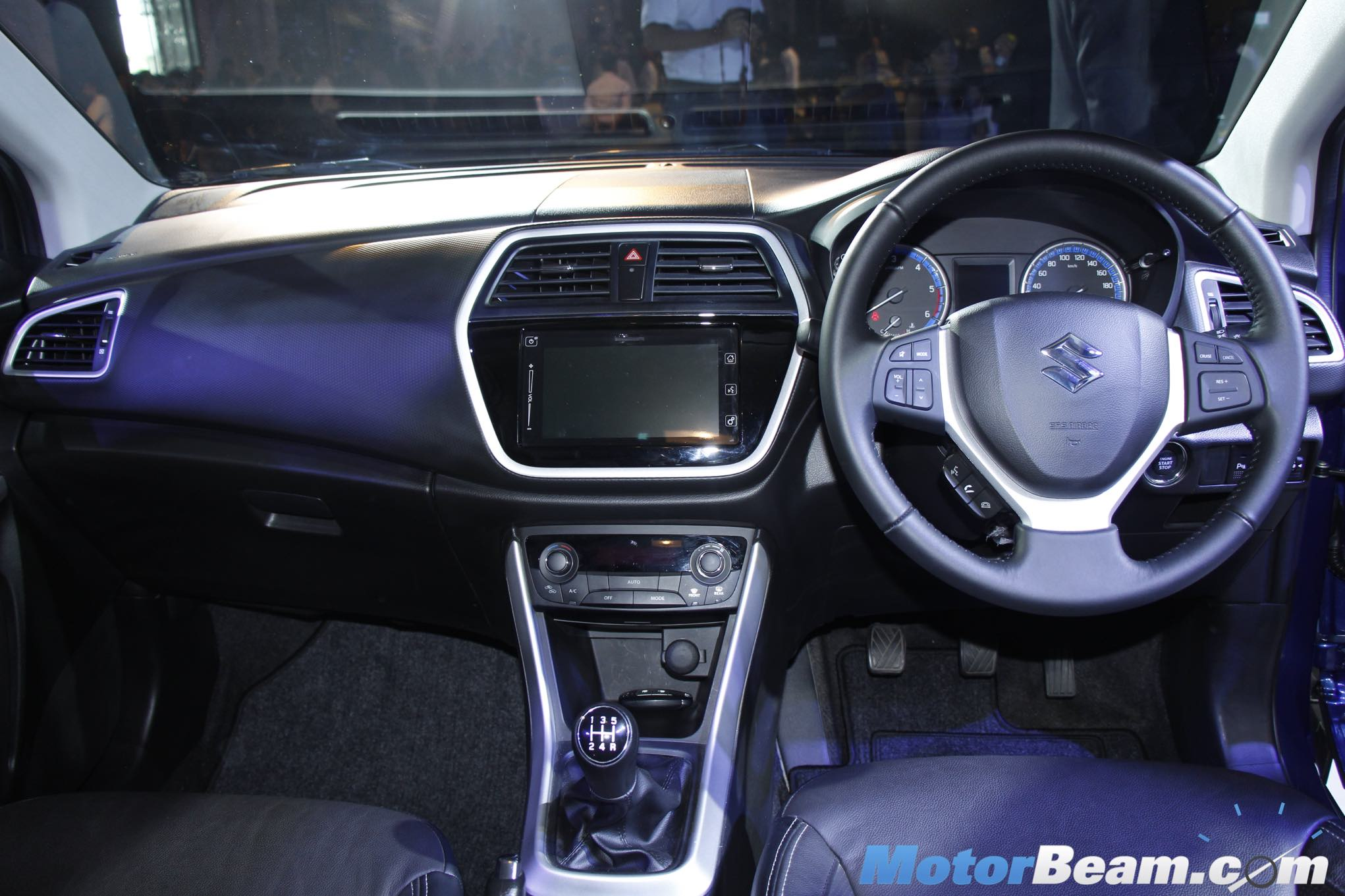 Maruti S-Cross Launch Interiors