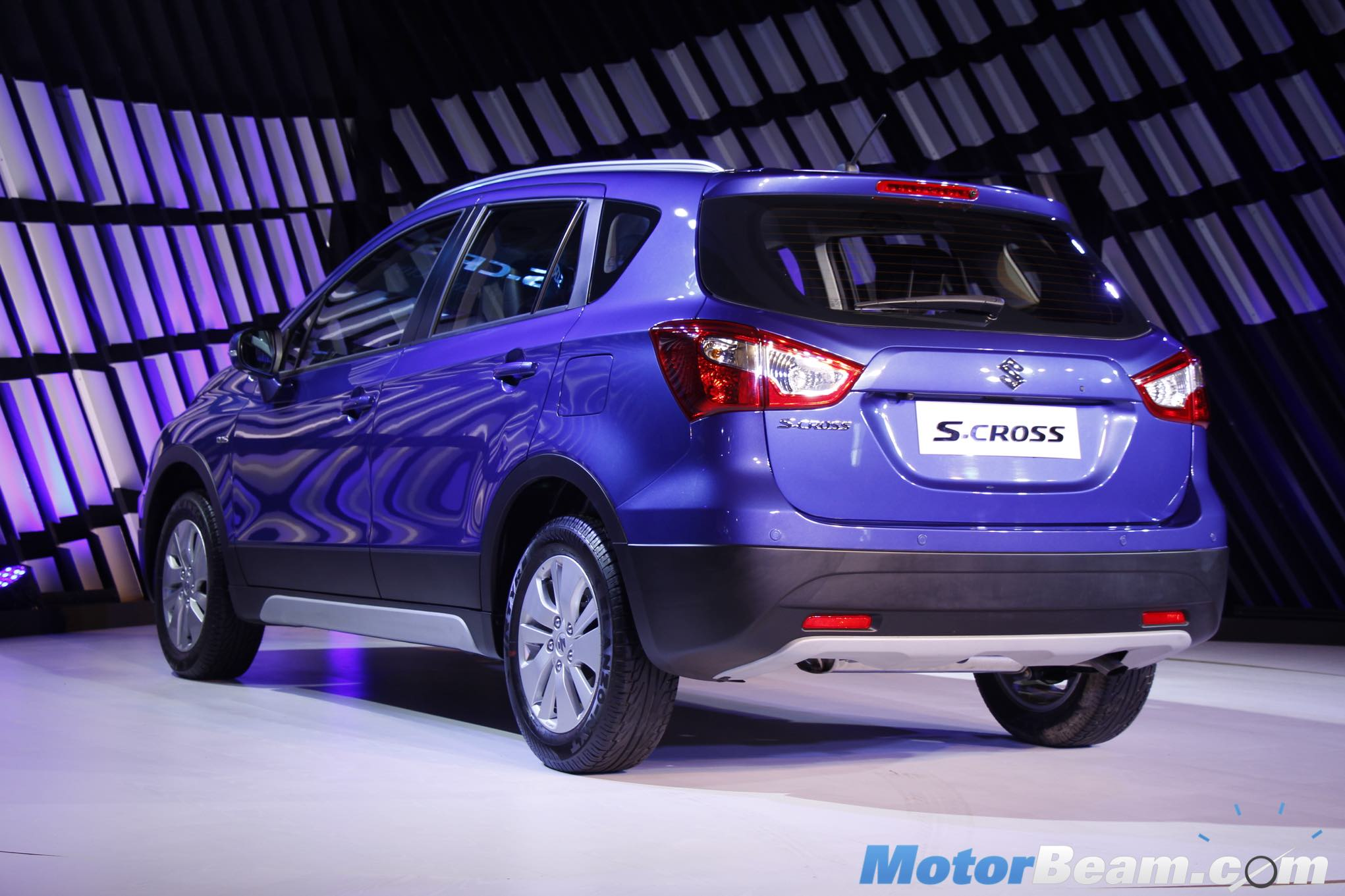 Maruti S-Cross Rear Profile