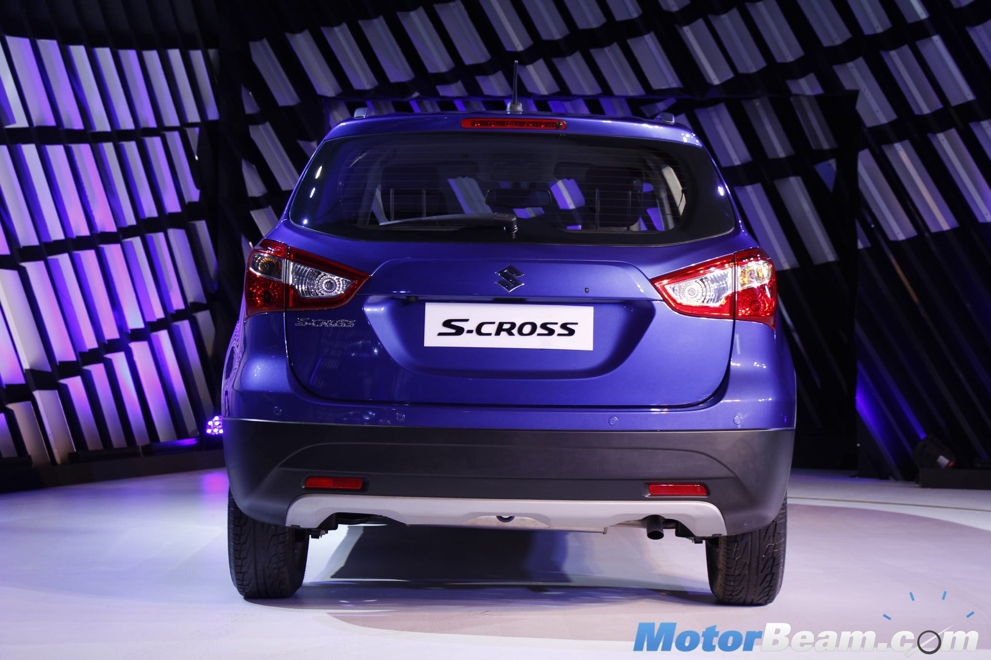 Maruti S-Cross Rear