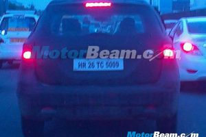 Maruti S-Cross Spy Shot Guragaon Rear