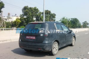 Maruti S-Cross Spy Shot Rear