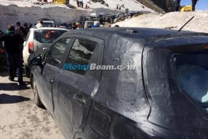 Maruti S-Cross Spy Shot Side