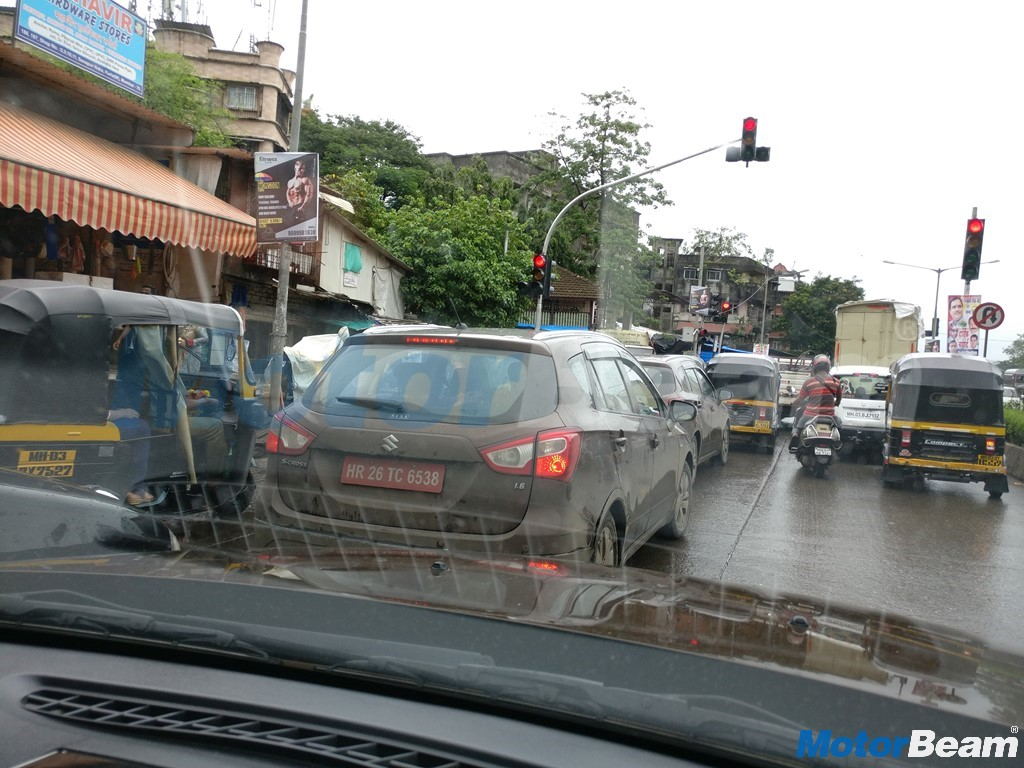 Maruti S-Cross With New Engine Spotted