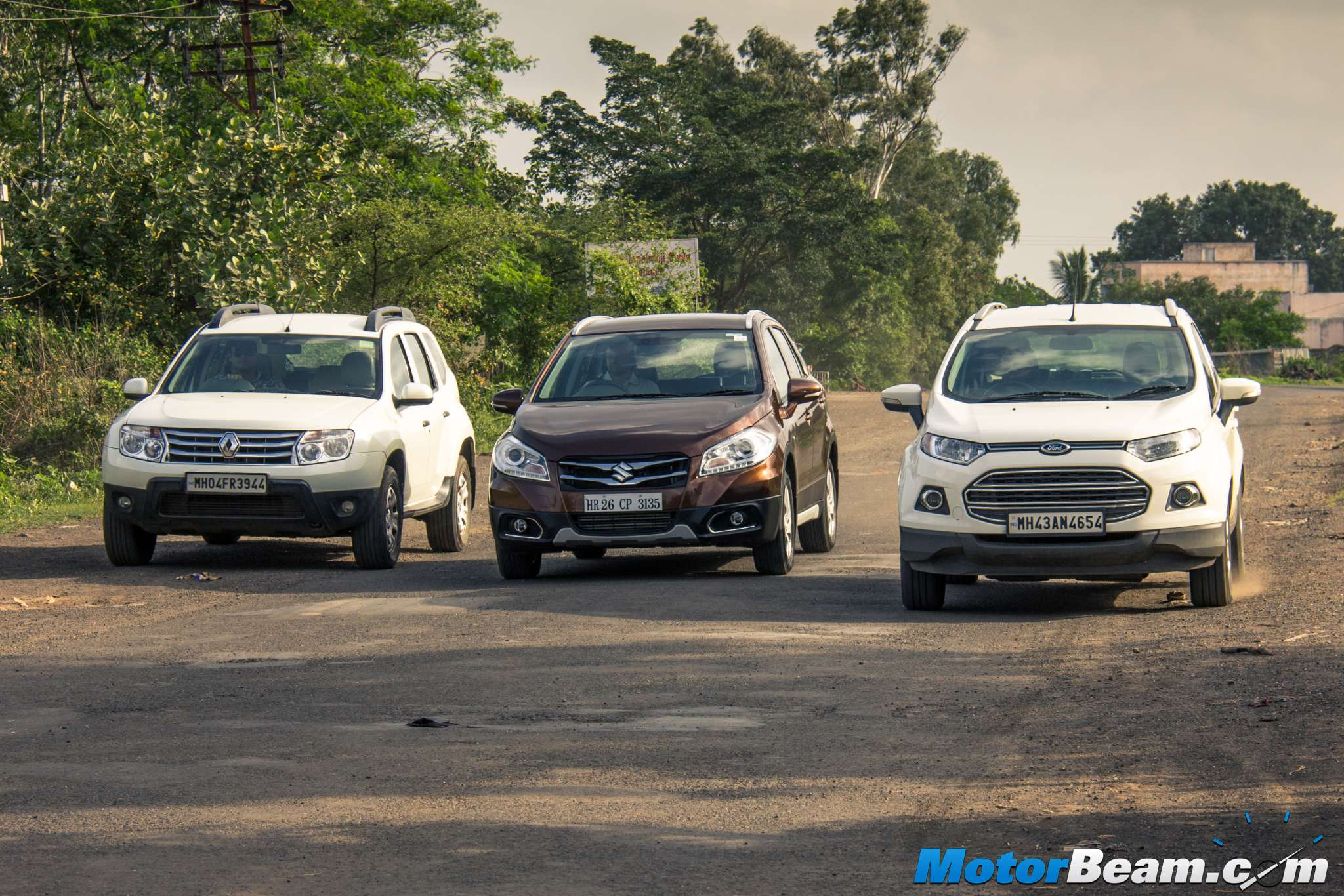 Maruti S-Cross vs Ford EcoSport vs Renault Duster