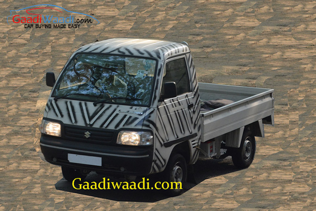 Maruti Super Carry LCV Test Mule
