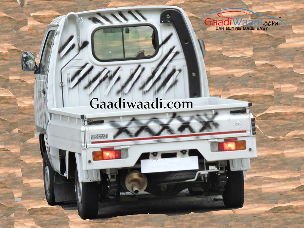 Maruti Super Carry Spied