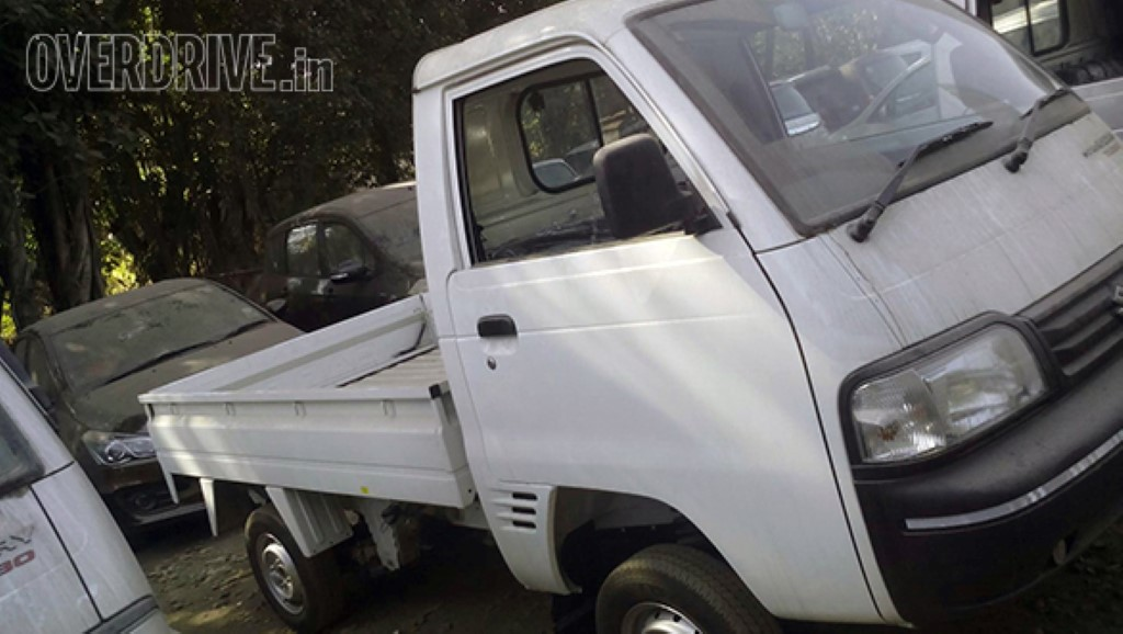 Maruti Super Carry Turbo Spotted