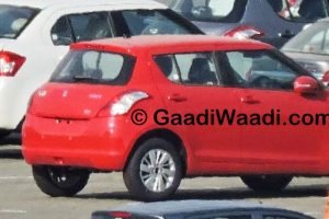 Maruti Swift Facelift Spied Reverse Parking Sensors
