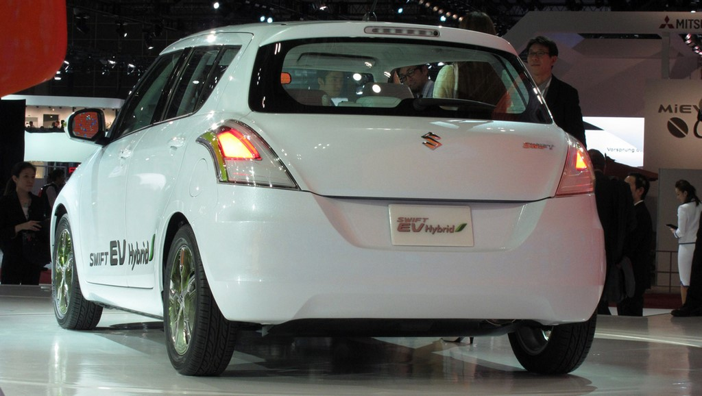 Maruti Swift Hybrid Concept