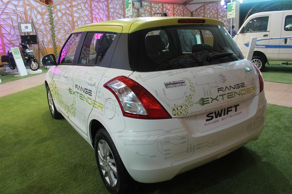 Maruti Swift Hybrid Range Extender Rear