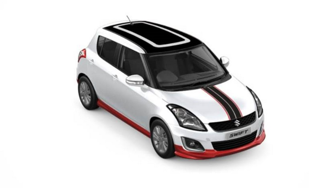 Maruti Swift iCreate White