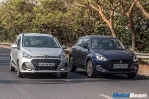 Maruti Swift vs Hyundai Grand i10 Shootout