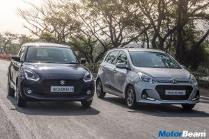Maruti Swift vs Hyundai Grand i10 Video