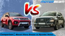Maruti Vitara Brezza vs Hyundai Venue - Hindi