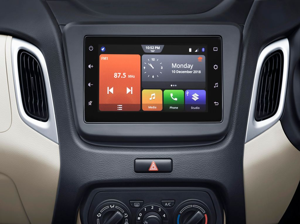 Maruti WagonR Infotainment Screen
