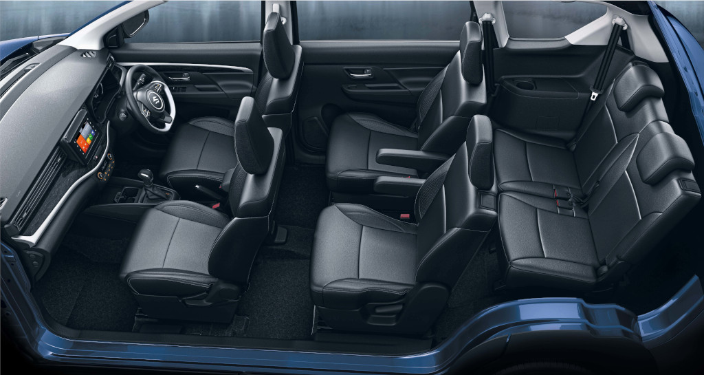 Maruti XL6 6 Seat Layout