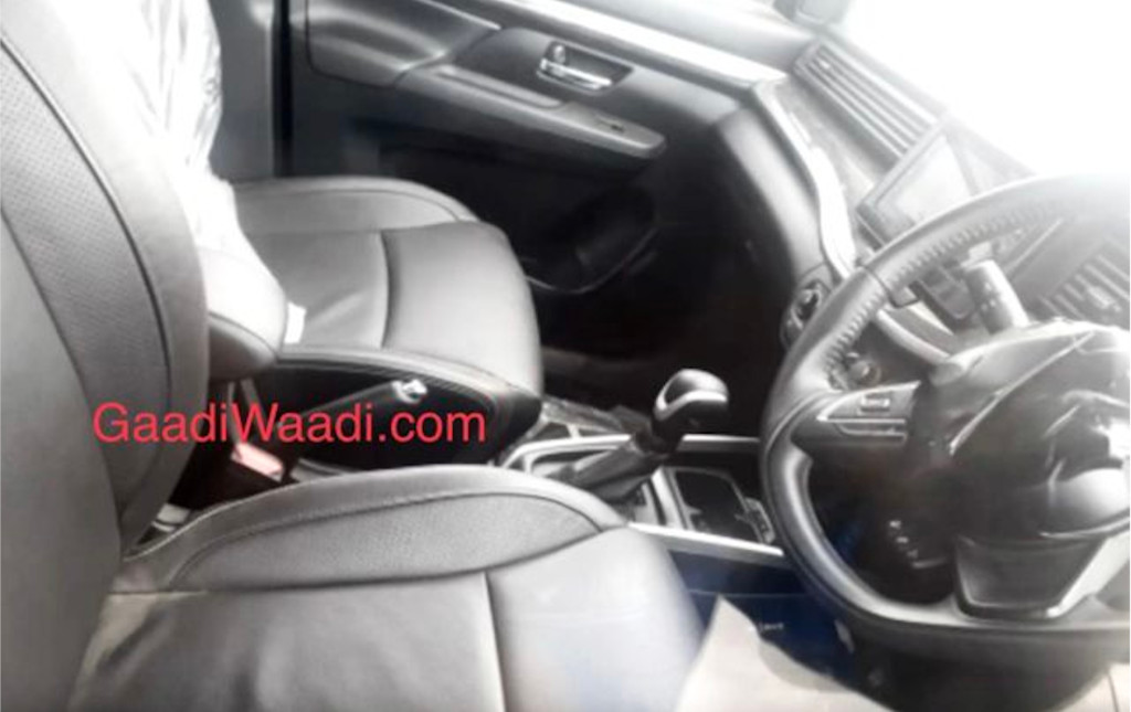 Maruti XL6 Black Interior