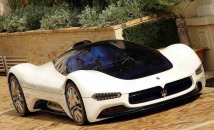Maserati Birdcage concept front
