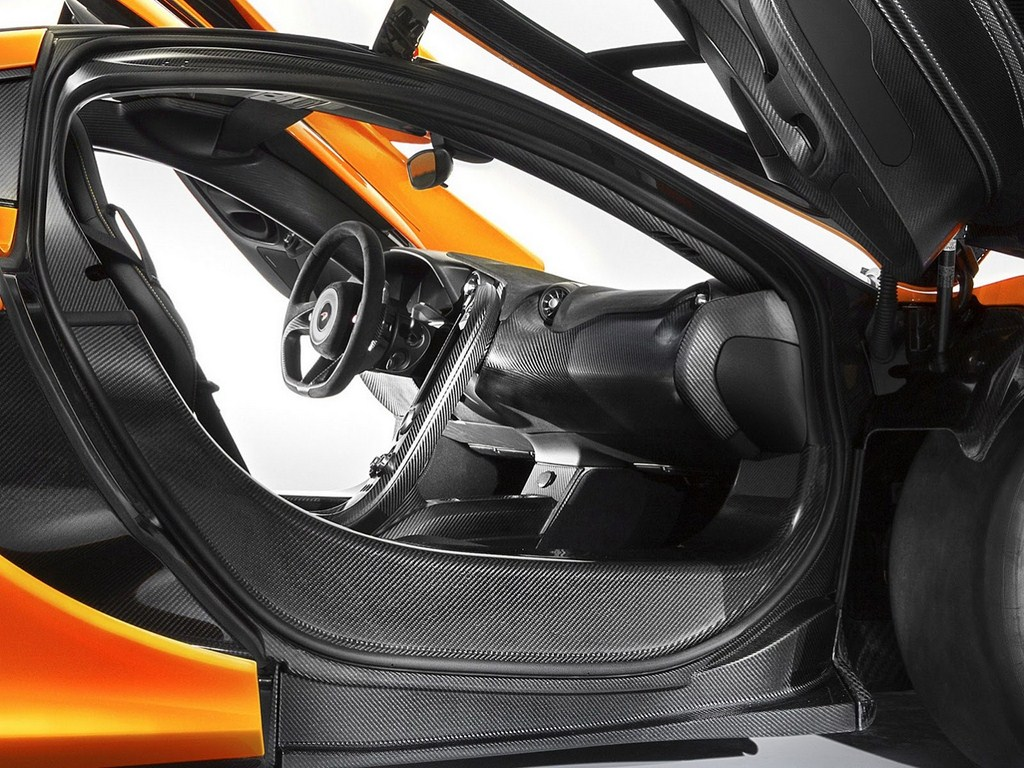 McLaren P1 Production Model Cabin