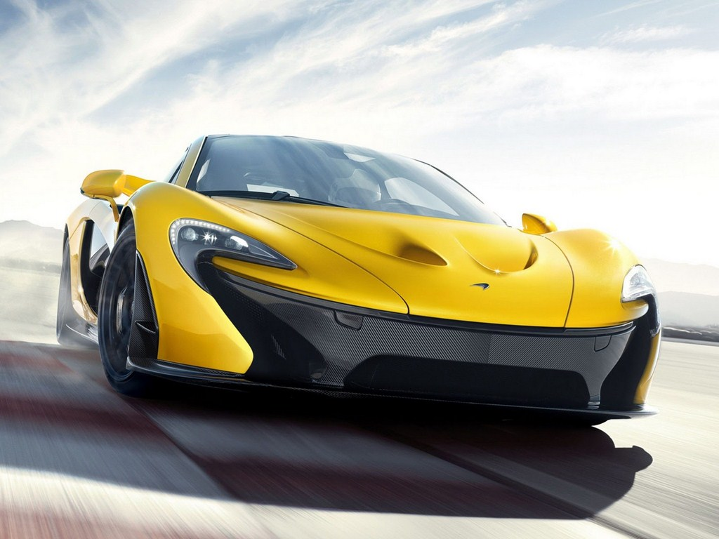 McLaren P1 Production Model Front