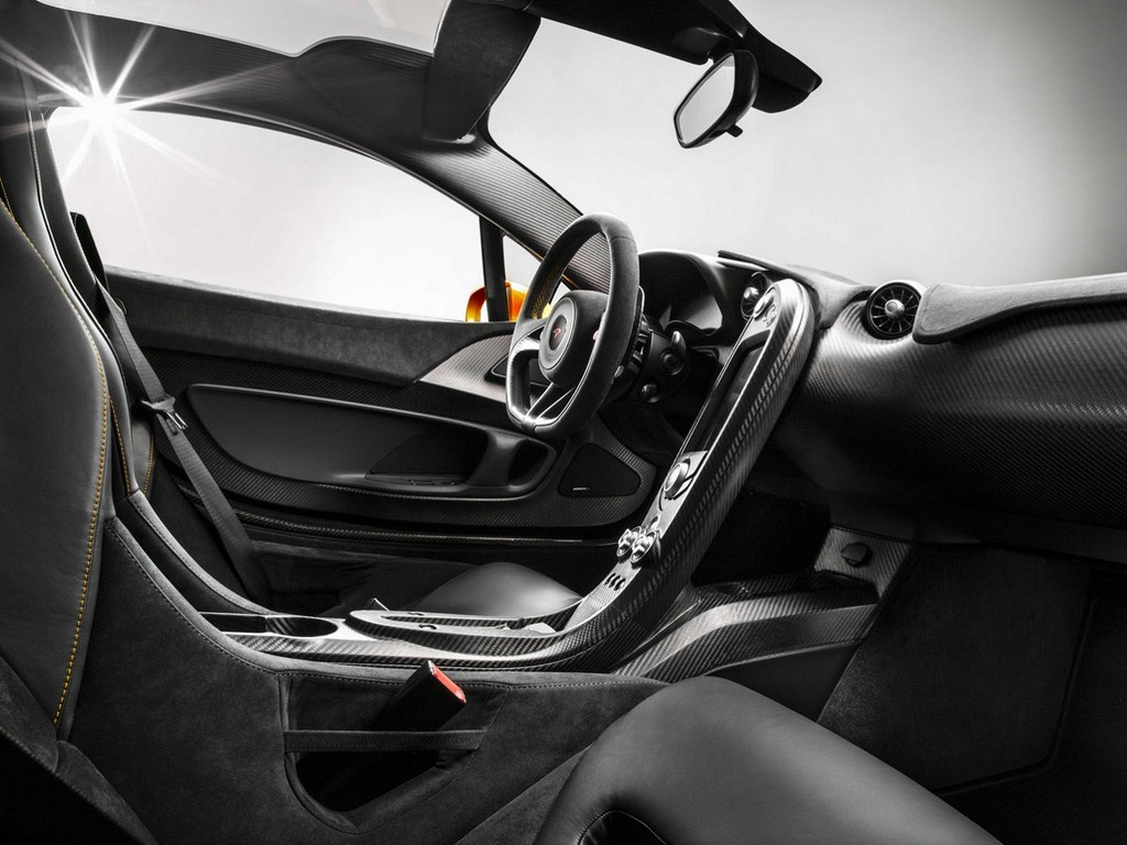 McLaren P1 Production Model Interiors