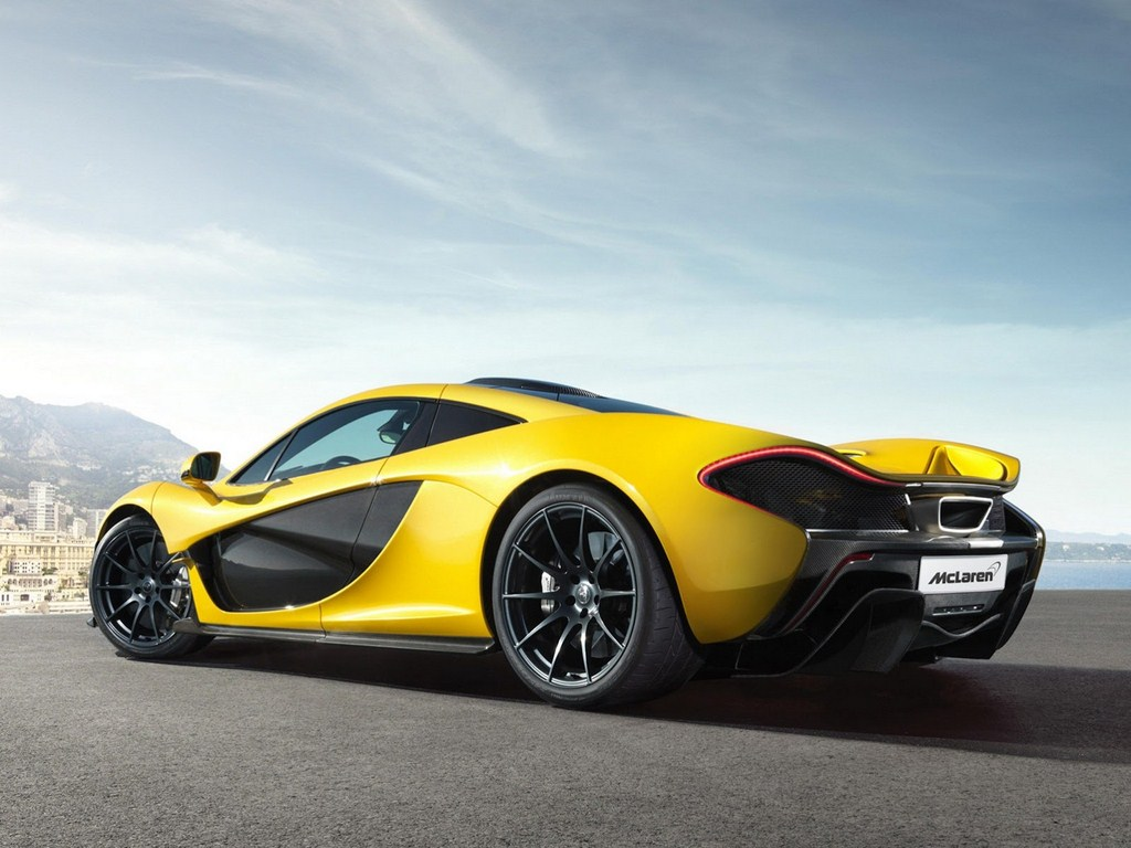 McLaren P1 Production Model Rear