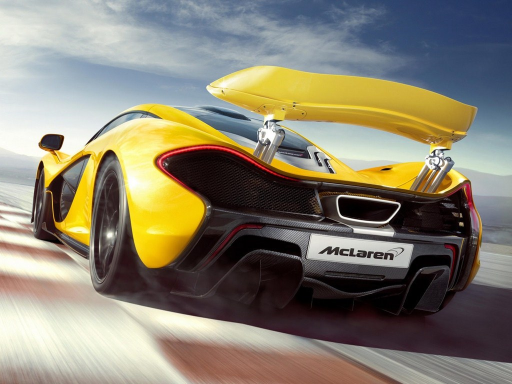 McLaren P1 Production Model Spoiler