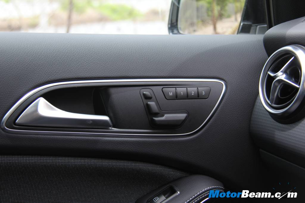 Mercedes A-Class Edition 1 Electric Seats