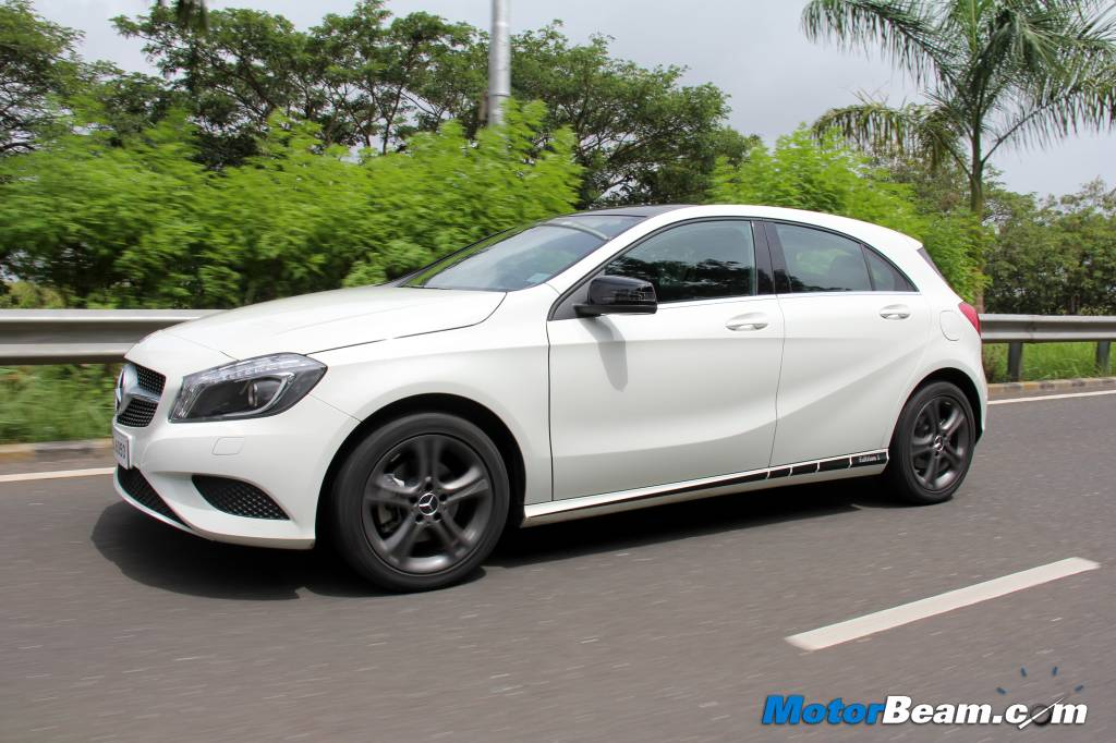Mercedes A-Class Edition 1 Road Test