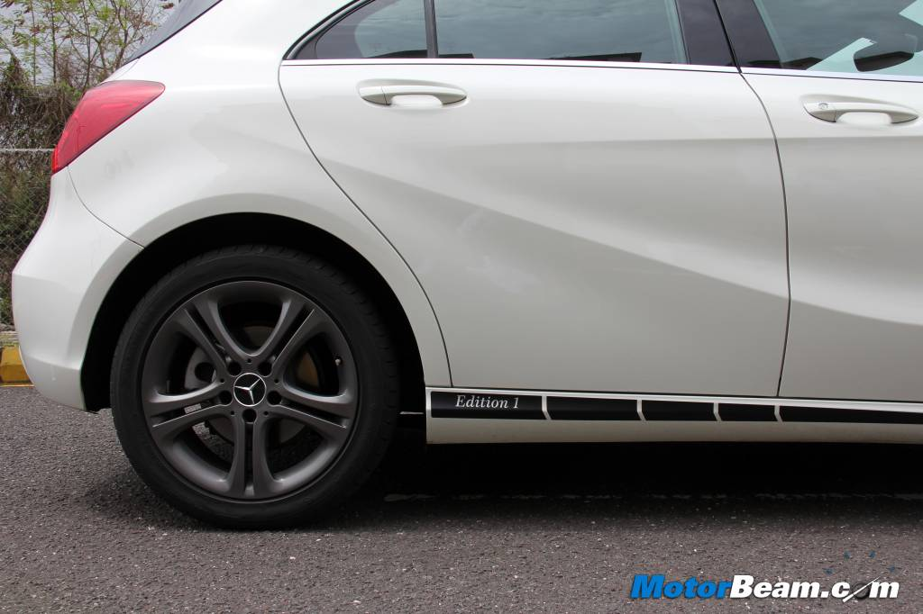 Mercedes A-Class Edition 1 Test Drive Review