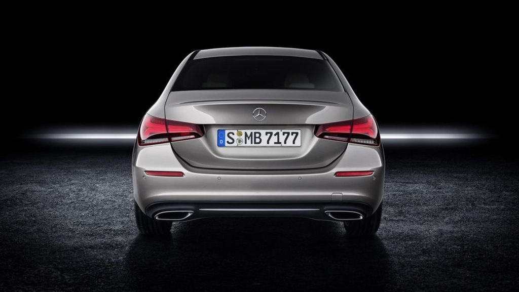 Mercedes A-Class Sedan Unveiled